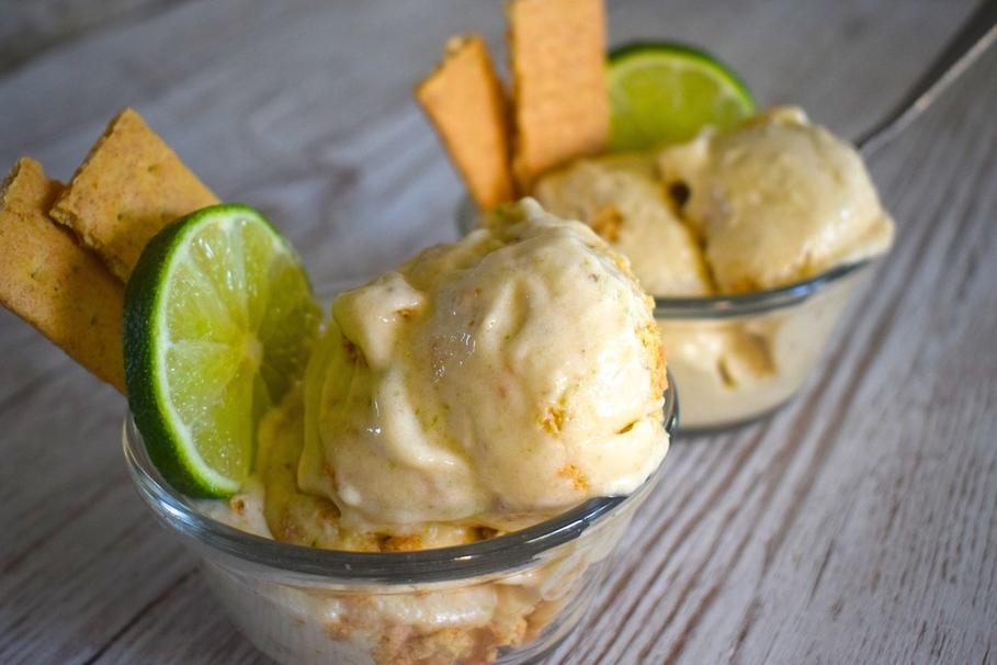 nice cream recipes lime milk