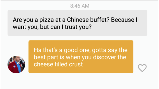 I Used Food Pickup Lines on Bumble and Reactions Were Mixed