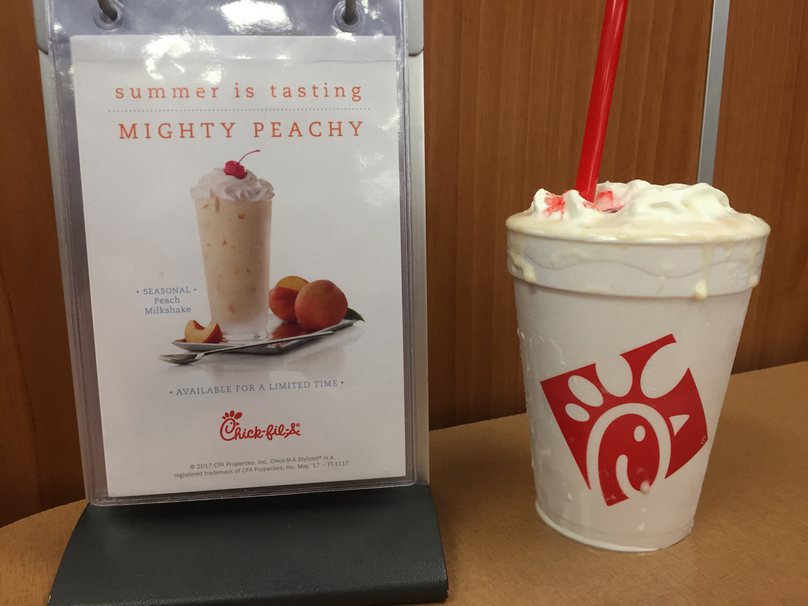 The Best Chick Fil A Milkshake Flavors Ranked