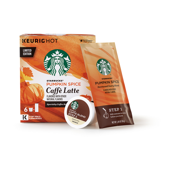 Starbucks Pumpkin Spice Lattes Are Now Available At The