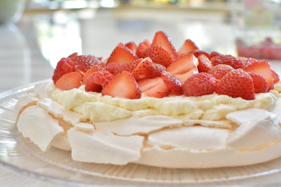 Show off Your Baking Skills with a Deceptively Easy Berry Meringue
