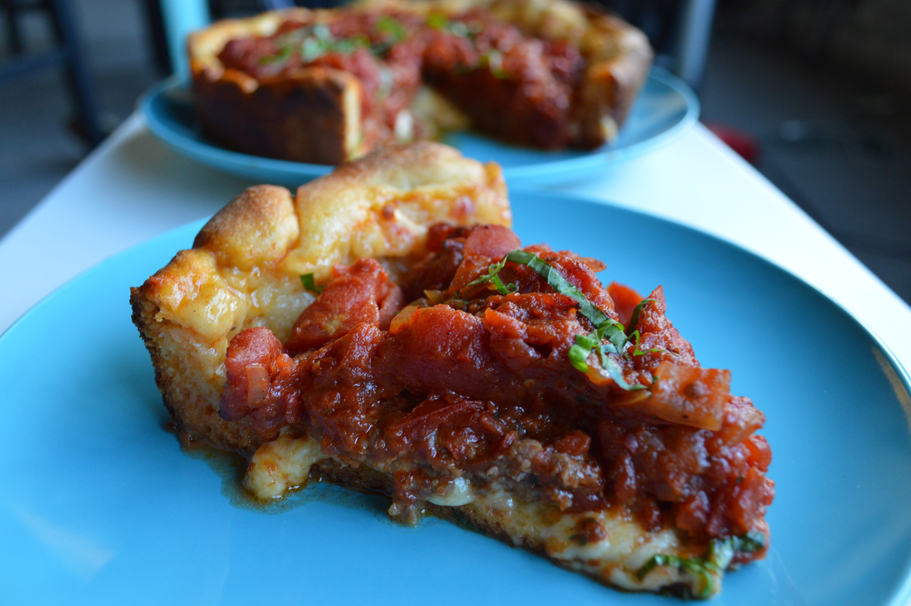 This Deep Dish Pizza Recipe Brings Chicago to You