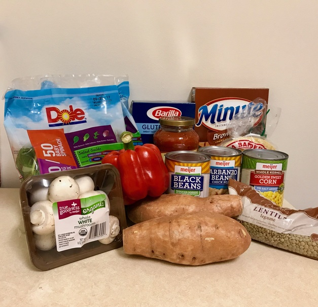 This Vegan Grocery List Makes 12 Different Meals for Just $20
