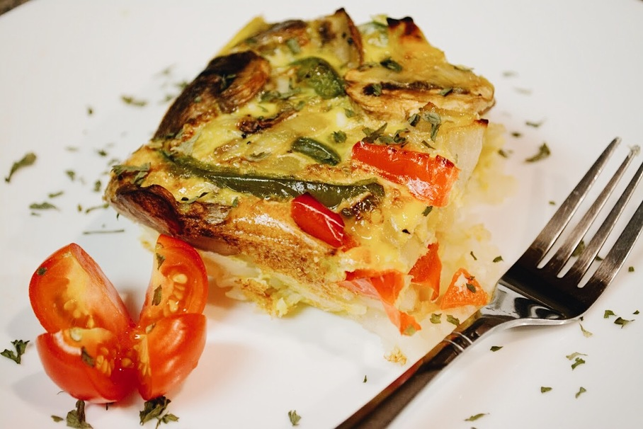 This Vegetarian Breakfast Casserole Will Feed You for a Week