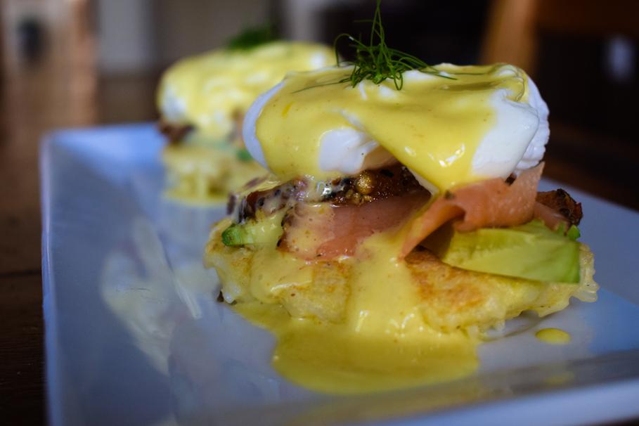 Paleo Eggs Benedict Inspired From Berkeley Social Club