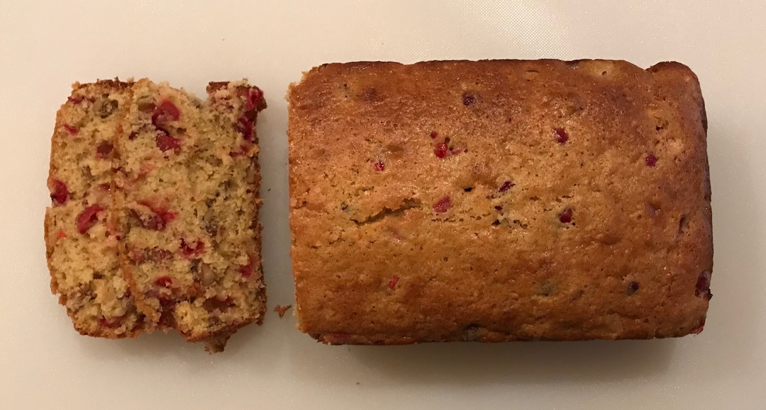 Switch Things Up This Thanksgiving With A Loaf of Crowd-pleasing Cranberry Bread