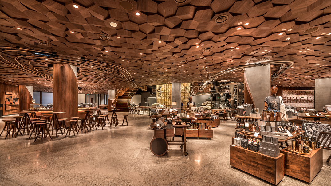 The New Starbucks Location Is It's Biggest Store Ever