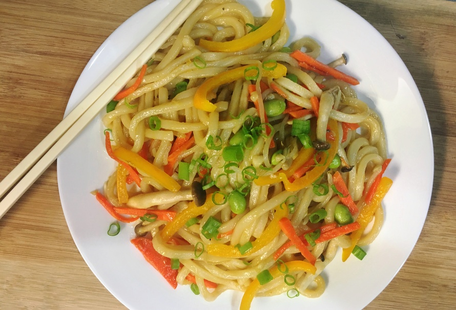 Stir-Fry Udon Noodles for When You Are in a Food Rut