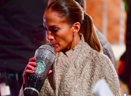 c566bf1834d Get Your Cup Blinged Out Like The Jennifer Lopez Starbucks Cup