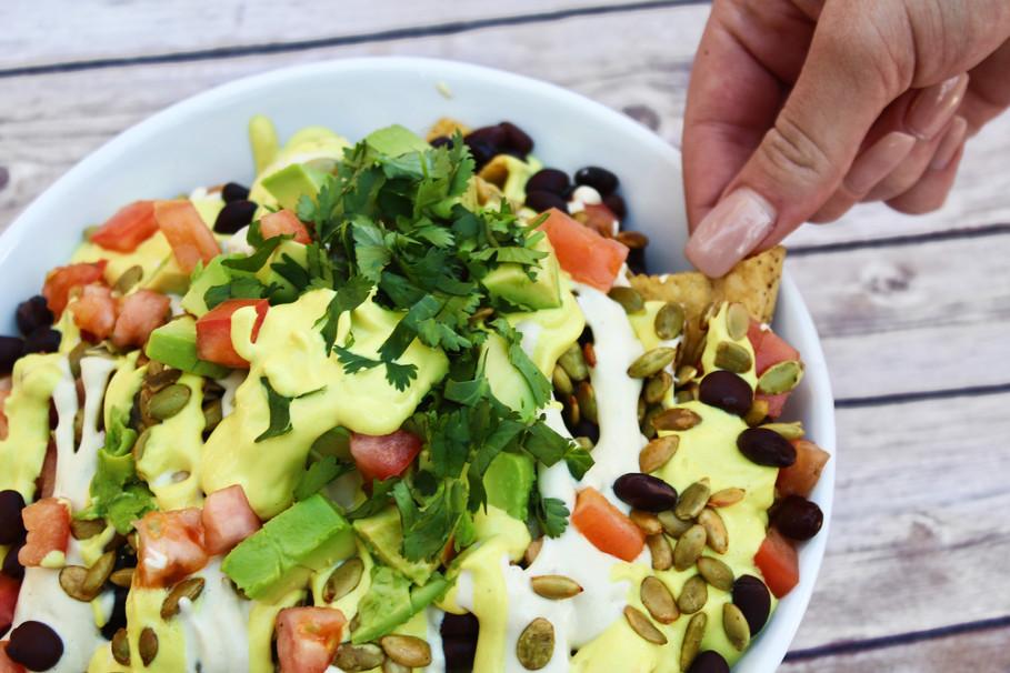 Recreating Café Gratitude's Vegan Nachos