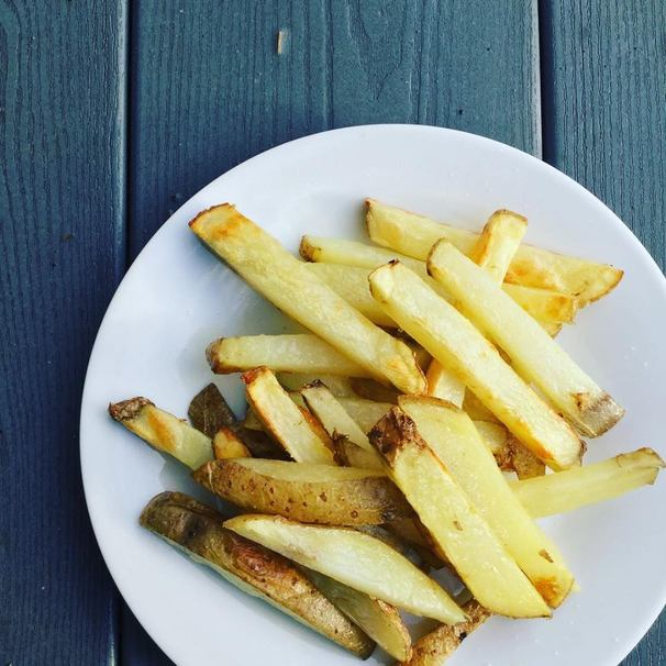 The Best Four Ingredient Oven Fries