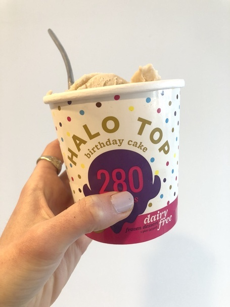 Superb I Tried And Ranked All The New Dairy Free Halo Top Flavors Personalised Birthday Cards Petedlily Jamesorg