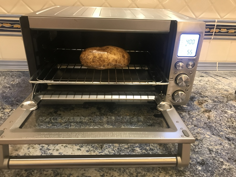 How To Make A Baked Potato In The Toaster Oven