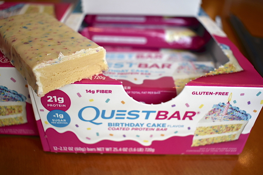 Quest Has Released Birthday Cake Protein Bars