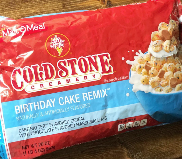 Excellent Cold Stone Creamery Is Launching Its Own Cereal This Month Funny Birthday Cards Online Alyptdamsfinfo