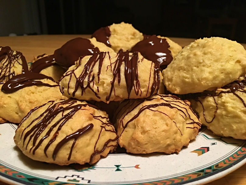 How to Make Melt-In-Your-Mouth, Chocolate-Covered Coconut Cookies