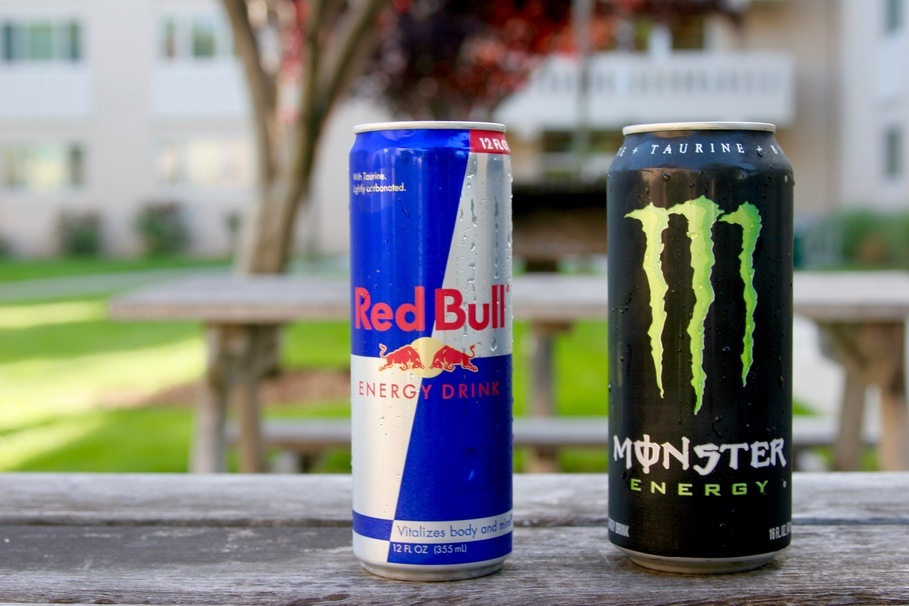 The Amount Of Caffeine In Energy Drinks Ranked