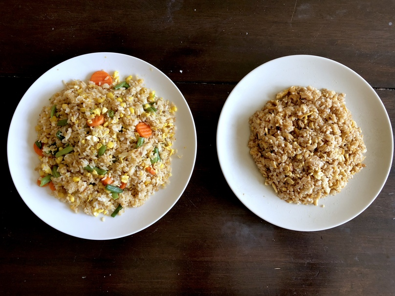 How to Make Homestyle Egg Fried Rice 2 Ways