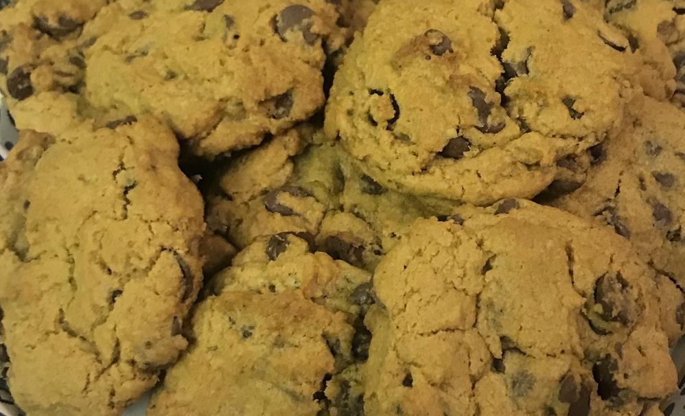 Pumpkin Chocolate Chip Cookies Recipe [Allergy-Friendly]