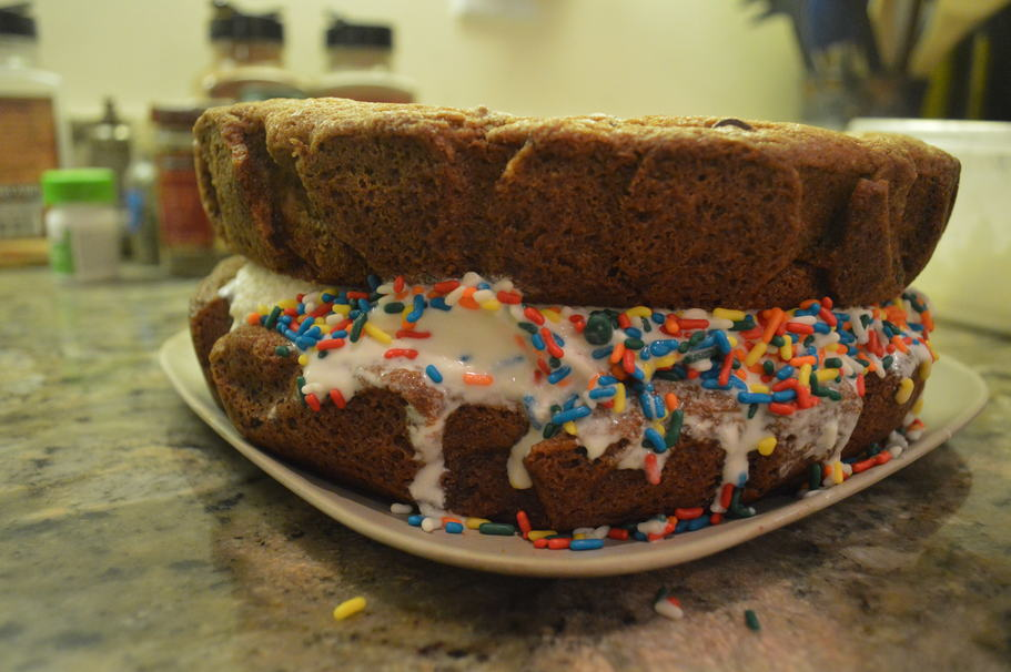 It Took Me an Entire Day to Make a Giant Ice Cream Sandwich. It Was Worth It.