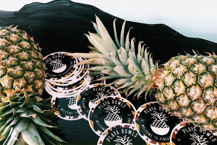 College Park, Welcome to Pineappleland. Playa Bowls UMD is open!