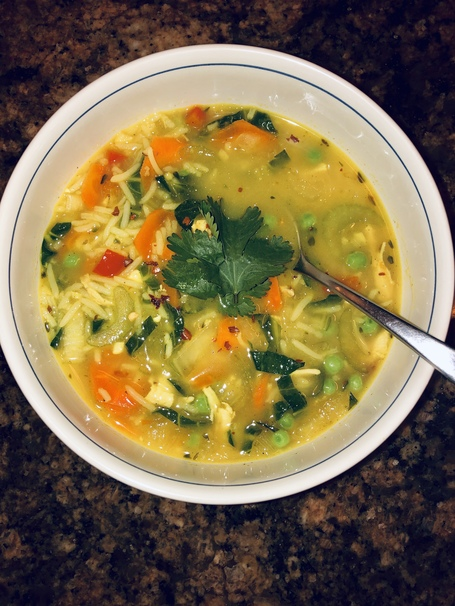 The Best Hearty Chicken and Rice Soup with Veggies