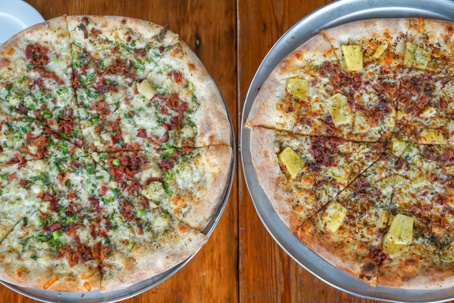 OTTO Pizza's menu combines unlikely ingredients, resulting in unique flavors.