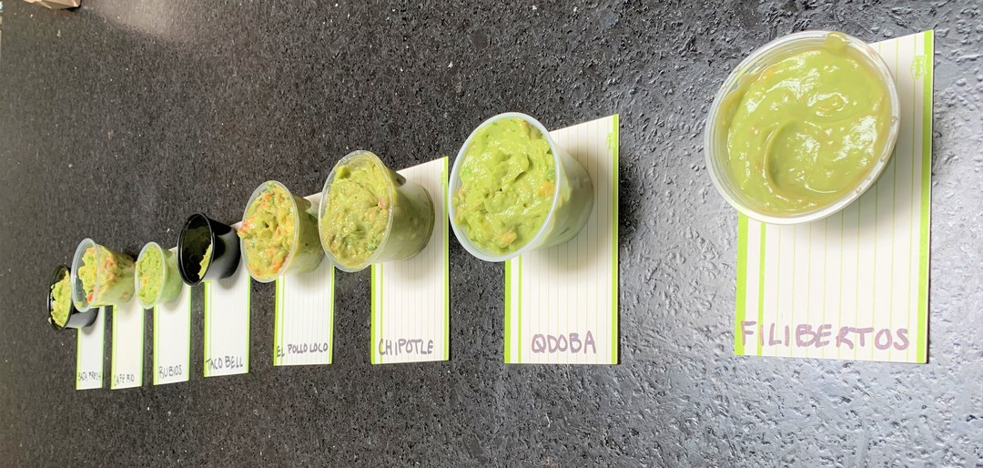 I Tried a ton of Fast Food Guacamole so You Don't Have to