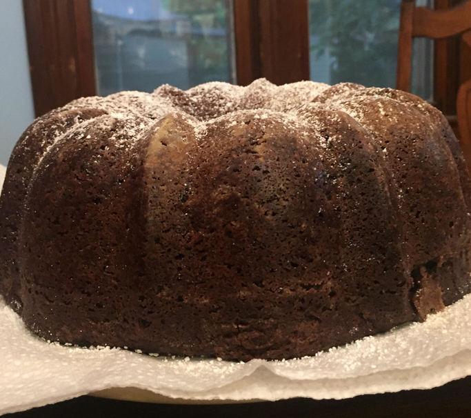 Incredibly Easy Vegan Brownie Pound Cake