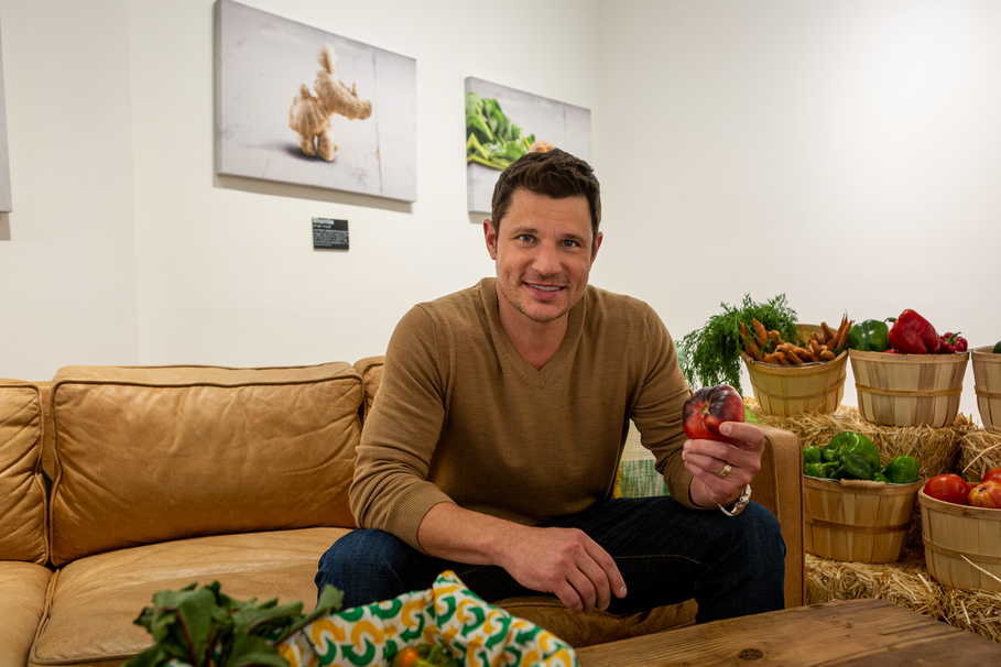 Exclusive Interview with Nick Lachey about Subway's Ugly Veggie Rescue