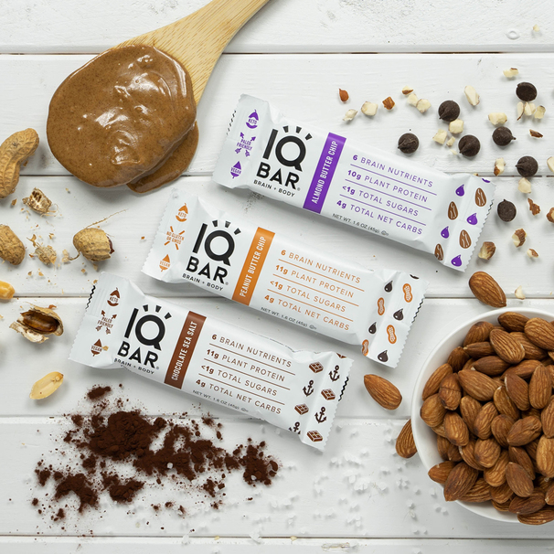 IQ BARs are Fuel for Brainiacs and Body Builders Alike