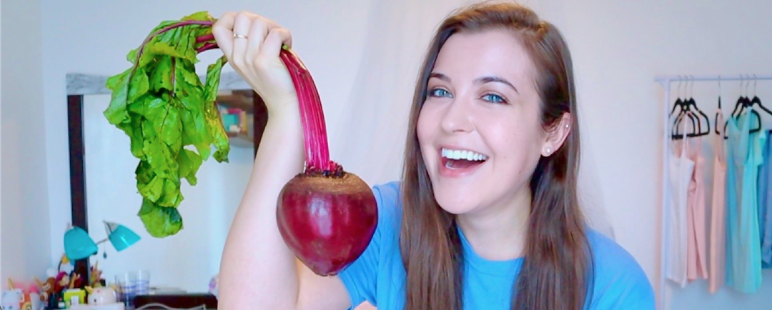 How I Dyed My Hair Red Naturally With A Beet