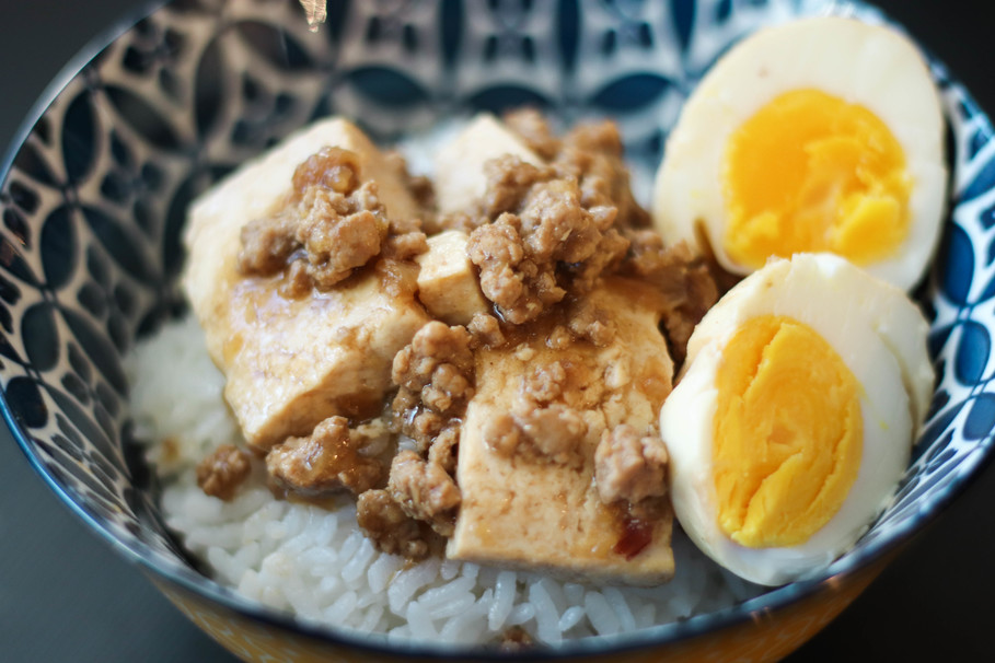 Recipes For The Amateur College Cook: Minced Pork Rice Made Easy