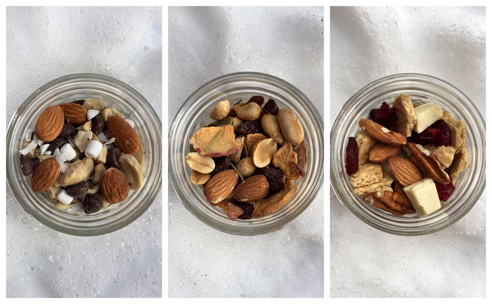 'Tis the Season for Snacking: Holiday Trail Mix 3 Ways