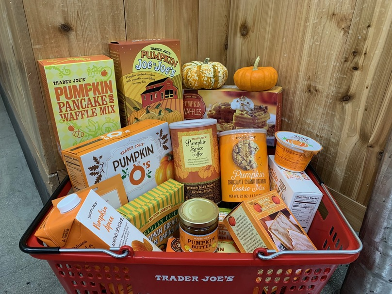 We Tried all of Trader Joe's Pumpkin Spice Snacks so You Don't Have To