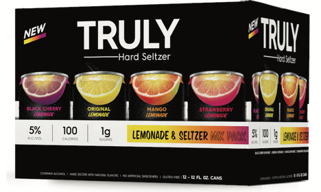 Truly Drops First-of-its-Kind Truly Lemonade Hard Seltzer