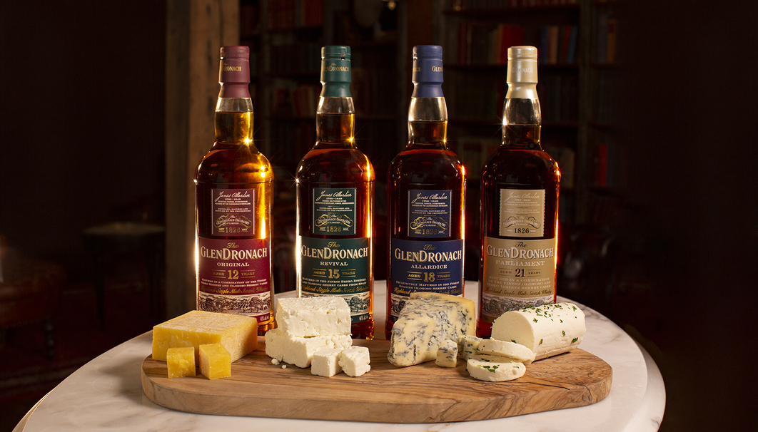 The GlenDronach Cheese & Scotch Pairings: National Cheese Lover's Day