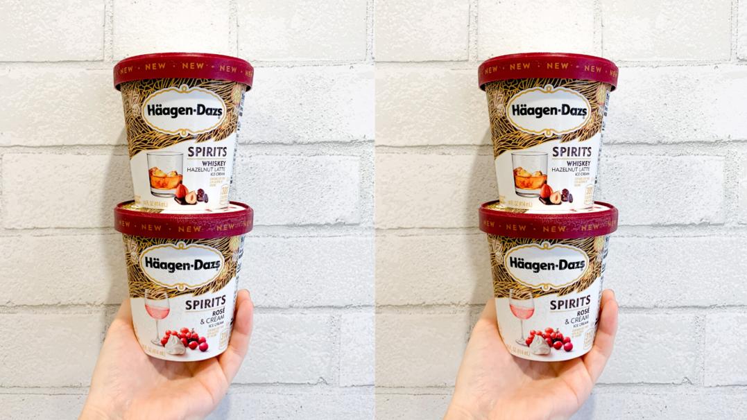Häagen-Dazs Just Announced Their Newest Boozy Ice Cream Flavors