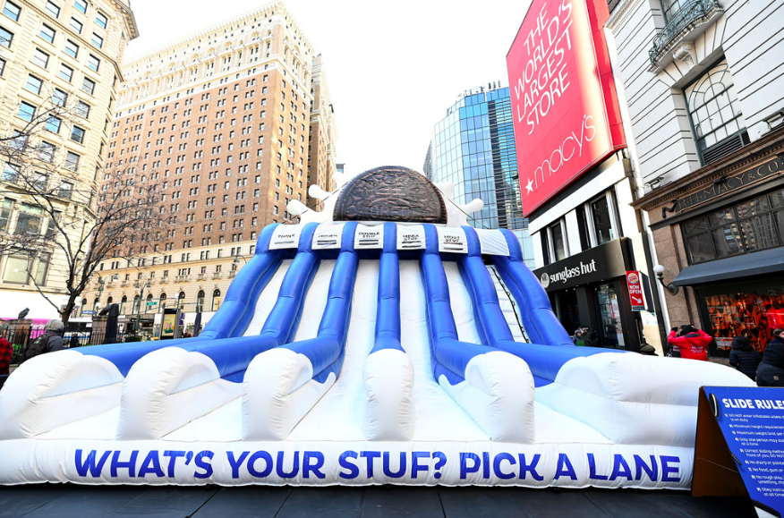 "OREO Brings ""What's Your Stuf"" Slide To NYC"