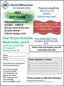 AWS West Michigan 2021 Golf Outing