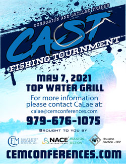 AWS Houston Section Corrosion and Skilled Trades Fishing Tournament