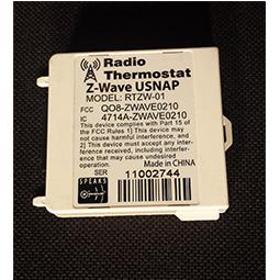 Radio Thermostat Z-Wave USNAP