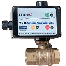 Z-Wave Water Valve 1 inch