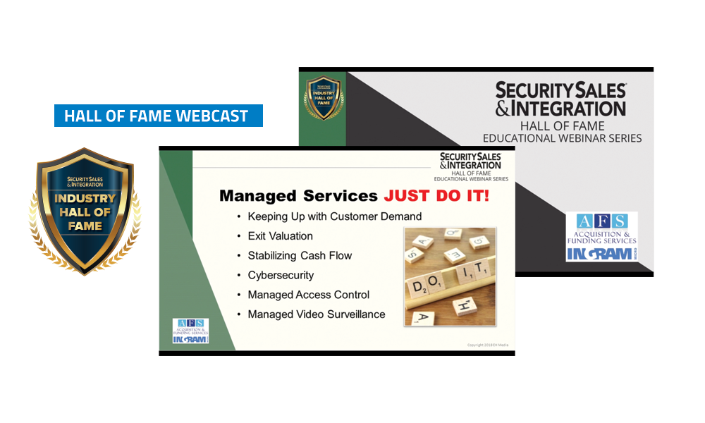 Security Sales & Integration Webcasts - Business Leadership Series