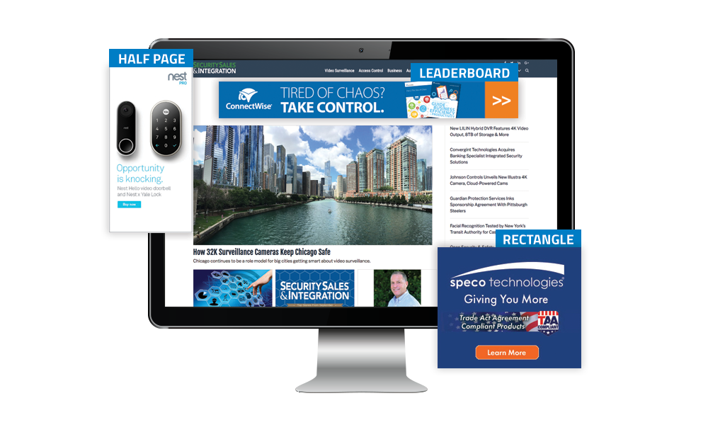 Security Sales & Integration Banner Ads - Standard