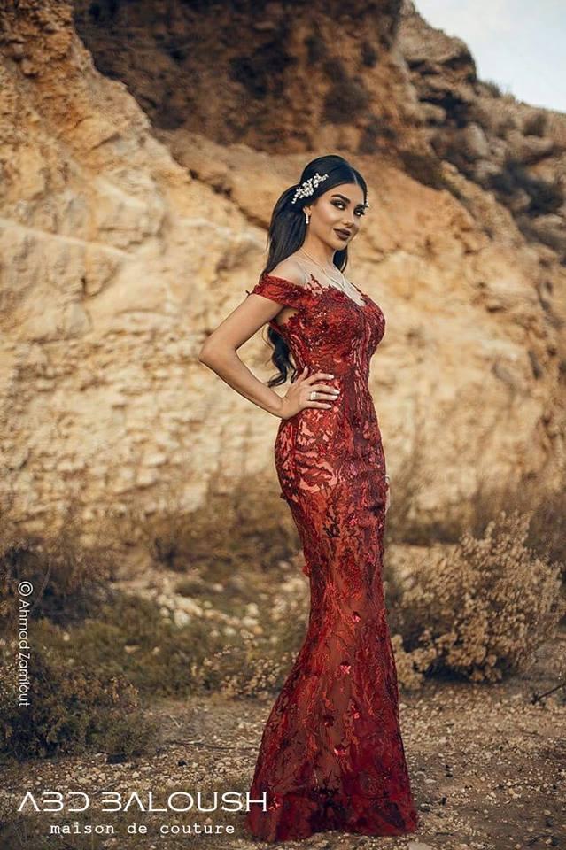 فساتين اعراس وفساتين سهرة من تصميم دار ازياء عبد بالوش 2018