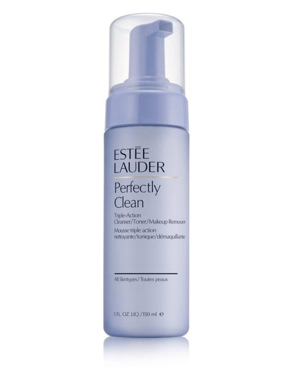 Lotion nettoyante/tonique/démaquillante 3-en-1 Perfectly Clean d'Estée Lauder 150ml