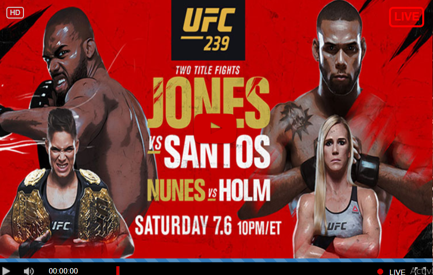 FIGHT-TV~]]?????! UFC 239 Live Online(Jones x Santos Live