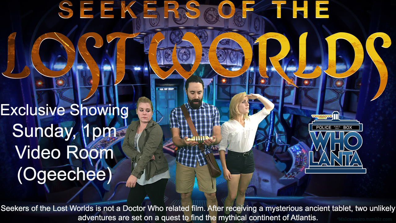 Seekers of the lost worlds seedspark the film will be followed by a short panel with the creators and some of the stars of the films fandeluxe Images
