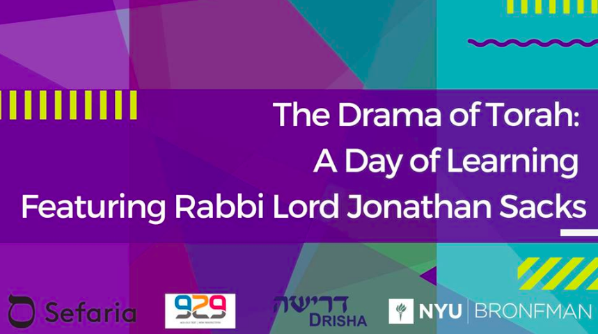 The Drama of Torah : A Day of Learning